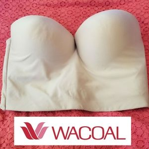 Wacoal 4-Way Strapless Bra Nude 36C NWT